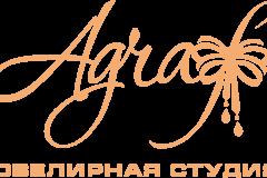 """логотип ювелирной студии """"Agraf"""""""