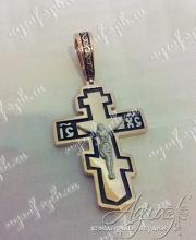 Крест нательный арт ow-003