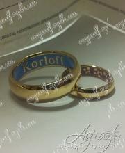 """Обручальные кольца """"Korloff"""" арт ow-012"""