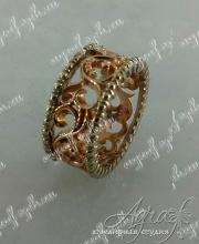 Обручальное кольцо арт ow-018