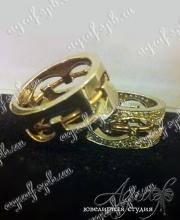 Обручальные кольц арт ow-025