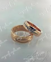 Обручальные кольца арт ow-038