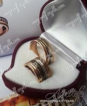 """Обручальные кольца """"Boucheron"""" арт ow-061"""