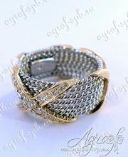 """Обручальное кольцо """"Tiffany"""" арт ow-062"""
