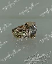 Кольцо с бриллиантом 3 карата арт ow-132