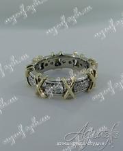 """Обручальное кольцо """"Tiffany"""" арт ow-145"""