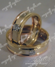 """Обручальные кольца """"Cartier"""" арт ow-151"""