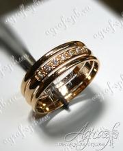 Обручальное кольцо арт ow-162