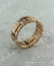 Обручальное кольцо арт ow-178