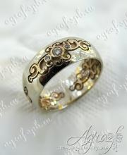 Обручальное кольцо арт ow-195