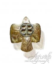 Мужской перстень из золота, с монограммой