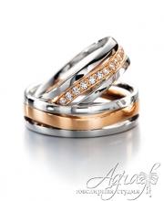 Обручальные кольца арт wr-006