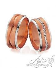 Обручальные кольца арт wr-009