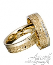 Обручальные кольца арт wr-010