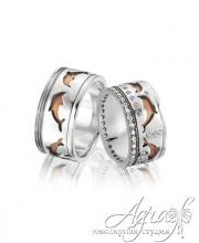 Обручальные кольца арт wr-015