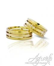 Обручальные кольца арт wr-017