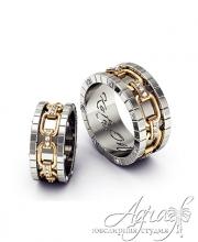 Обручальные кольца арт wr-019