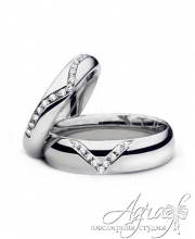 Обручальные кольца арт wr-022