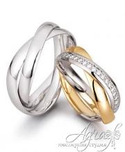 Обручальные кольца арт wr-025