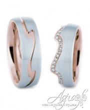 Обручальные кольца арт wr-030