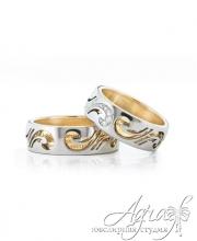 Обручальные кольца арт wr-045