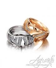Обручальные кольца арт wr-046