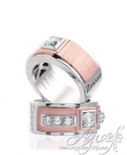 Обручальные кольца арт wr-049