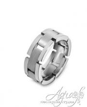 Обручальные кольца из платины арт wr-052