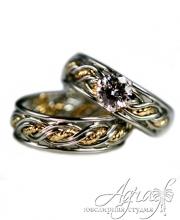Обручальные кольца арт wr-059
