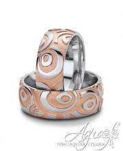 Обручальные кольца арт wr-067