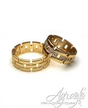 Обручальные кольца арт wr-073