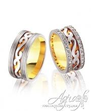 Обручальные кольца арт wr-077