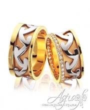 Обручальные кольца арт wr-078
