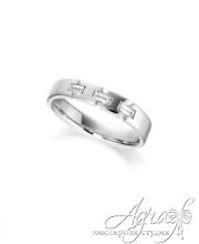 Обручальные кольца из платины арт wr-080