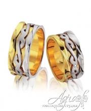 Обручальные кольца арт wr-085