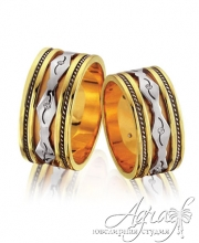 Обручальные кольца арт wr-091
