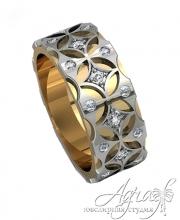 Обручальные кольца арт wr-095