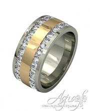 Обручальные кольца арт wr-107