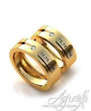 Обручальные кольца арт wr-110