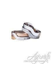 Обручальные кольца арт wr-113