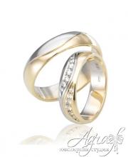 Обручальные кольца арт wr-125