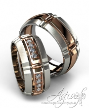 Обручальные кольца арт wr-133