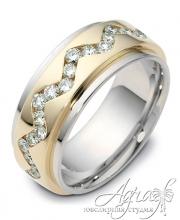 Обручальные кольца арт wr-139