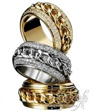 Обручальные кольца арт wr-158