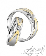 Обручальные кольца арт wr-164