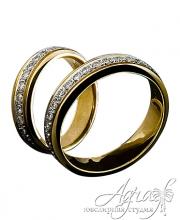 Обручальные кольца арт wr-177