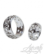 Обручальные кольца арт wr-179