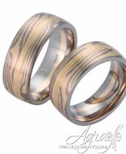 Обручальные кольца Мокуме арт wr-904