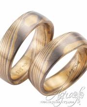 Обручальные кольца Мокуме арт wr-907